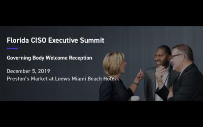 Florida CISO Executive Summit Q4